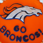 Fondant Bronco Cut-out