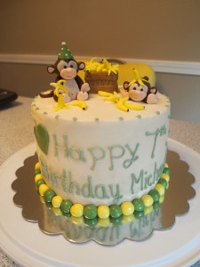 Silly Monkeys Banana Cake