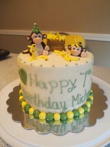 Silly Monkeys Banana Cake