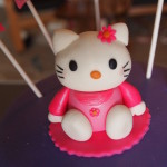 Pink Hello Kitty Figurine