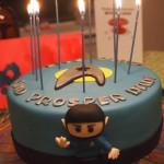 Spock Star Trek Cake