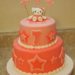 Hello Kitty Star Cake