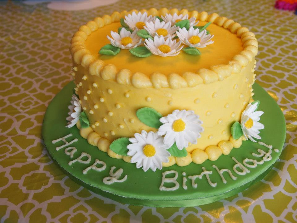 Daisy Cake 2