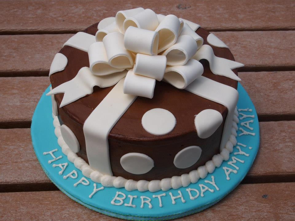 Chocolate Present Cake
