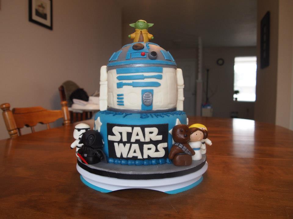 Epic Star Wars Cake