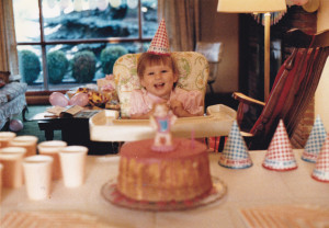 Heather's 1st birthday