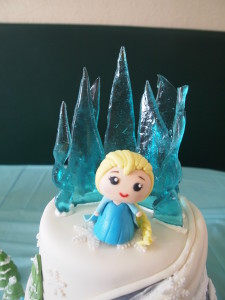 Elsa and Her Ice Castle
