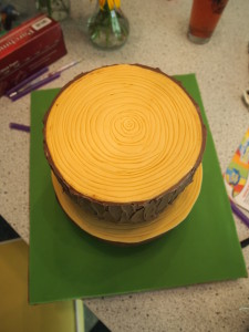 Stump Cake Top