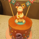 Ruthie's Piggy Birthday Cake