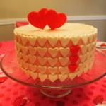 Valentine's Sweetheart Cake