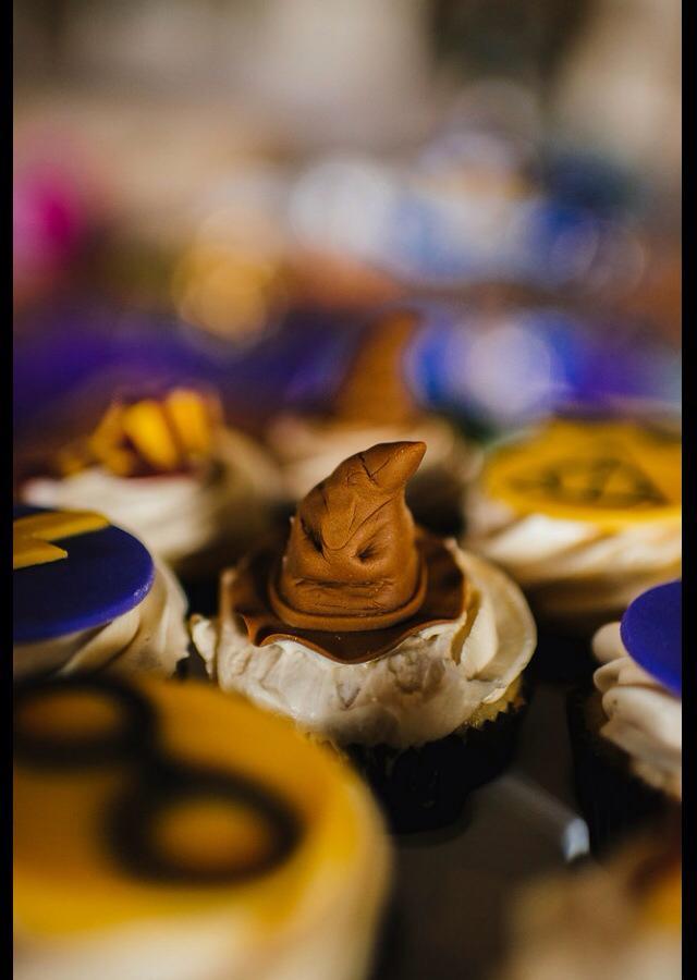 Sorting Hat Cupcake