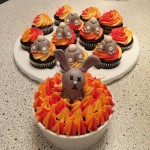 Flaming Bunnies