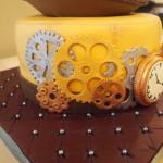 Steampunk Cake Gears