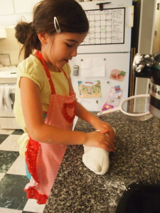 Kneading the Fondant