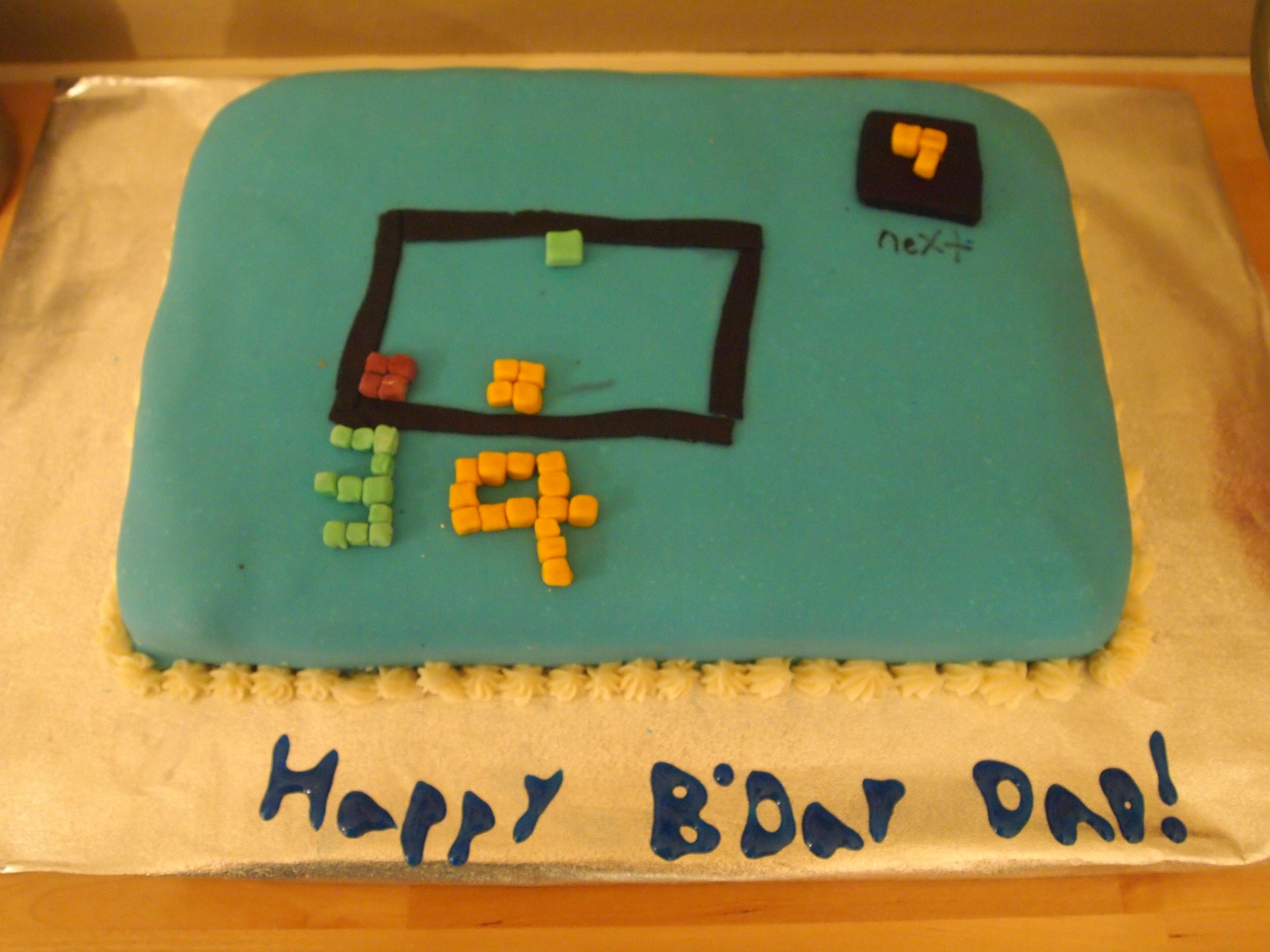 Pennys Cake  Celebrations Of Hope - Tetris birthday cake